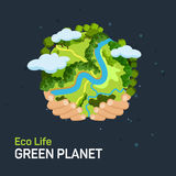 Earth day concept Royalty Free Stock Images