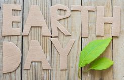 Earth day concept Royalty Free Stock Image