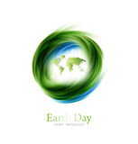 Earth Day Design Stock Photo