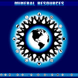 Earth Day. Destruction of mineral reserves. Royalty Free Stock Images