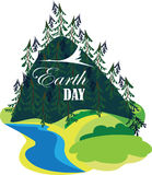 Earth day, eco image, ecology concept Royalty Free Stock Images