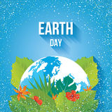 Earth Day. Ecology concept. Royalty Free Stock Image