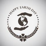 Earth Day Emblem Stock Photos