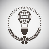 Earth Day Emblem Stock Image
