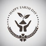Earth Day Emblem Royalty Free Stock Photos
