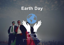 Earth Day Environmental Conservation Nature Planet Concept Stock Photos