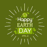 Earth Day Globe Tree Plant Ecological World Protection Royalty Free Stock Photo