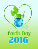 Earth Day 2016 Stock Image
