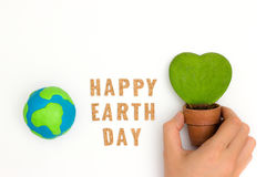 Earth day holiday concept Royalty Free Stock Photo