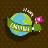 Earth day illustration Stock Photos