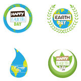 Earth day illustrations Stock Photos
