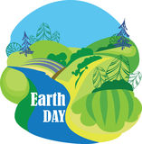 Earth day, landscape nature, ecology concept Stock Photos