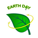 Earth Day Means Go Green And Eco-Friendly Stock Images