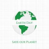 Earth Day Planet textile Banner Stock Photos