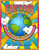 Earth Day poster Stock Photography