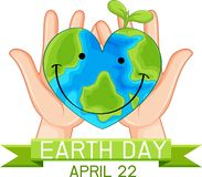 Earth day poster concept. Illustration vector illustration