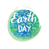 Earth day poster Royalty Free Stock Image