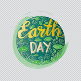 Earth day poster Royalty Free Stock Images