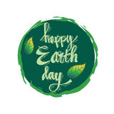 Earth day poster Royalty Free Stock Photos