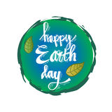 Earth day poster Stock Photos