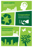 Earth day and Recycle,Print size a4 Stock Photo