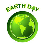 Earth Day Represents Eco Friendly And Eco-Friendly Royalty Free Stock Image