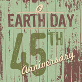 Earth Day's 45th anniversary Stock Images