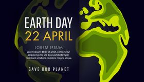 Earth Day. Save the Earth concept Royalty Free Stock Photography