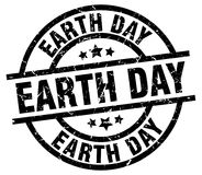 Earth day stamp. Earth day grunge vintage stamp isolated on white background. earth day. sign royalty free illustration