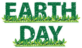 Earth day theme Royalty Free Stock Photos
