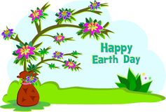 Earth Day Tree Royalty Free Stock Photos