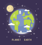 Earth Day vector. 22 April Concept illustration Stock Image