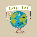 Earth Day vector. 22 April Concept illustration Royalty Free Stock Images