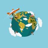 Earth Day Vector Art Stock Photography