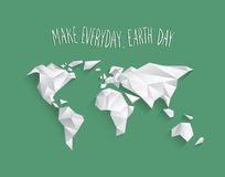 Earth day vector. Digitally generated Earth day vector Stock Image