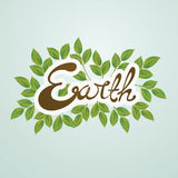 Earth Day vector illustration Royalty Free Stock Photos