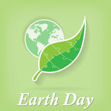 Earth Day. Vector illustration Royalty Free Stock Photo