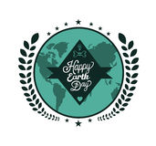 Earth day vectors Stock Images