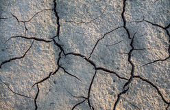 Earth desert. The effect of Global Warming or climate change Royalty Free Stock Photos