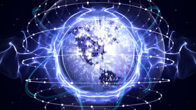 Earth Disco Ball, Background, Computer Graphics, Stock Photo