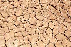 Earth dried up in drought Stock Photos