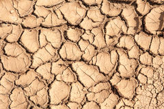 Earth dried up in drought Royalty Free Stock Photos