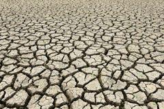 The earth dry. Crack earth is dry season Stock Photos