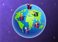 Earth Dwellers Stock Photo