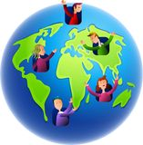 Earth Dwellers Stock Images