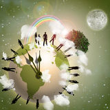 Earth Eco Royalty Free Stock Photos