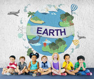 Earth Ecology Environment Conservation Globe Concept Royalty Free Stock Image
