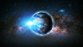 Earth. Elements of this image furnished by NASA. Royalty Free Stock Photos