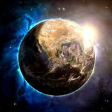 The Earth - Elements of this Image Furnished by NASA Stock Photography