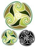 Earth emblem Stock Images